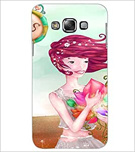 PrintDhaba Sweet Girl D-3299 Back Case Cover for SAMSUNG GALAXY GRAND 3 (Multi-Coloured)