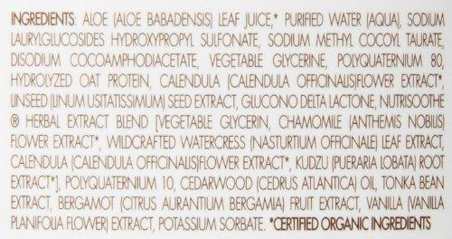 Babo Botanicals Moisturizing Baby Shampoo & Wash (For Sensitive & Dry Scalp & Skin) 237ml