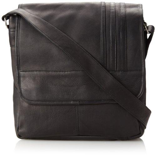 david-king-co-laptop-vertical-messenger-avec-3-stripes-noir-taille
