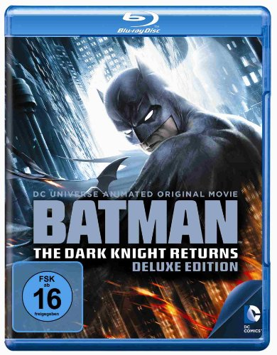 Bild von Batman - The Dark Knight Returns 1+2 [Blu-ray] [Deluxe Edition]