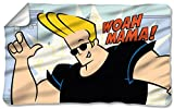 Johnny Bravo Funny Cartoon Network série TV woah Mama. Couverture en polaire