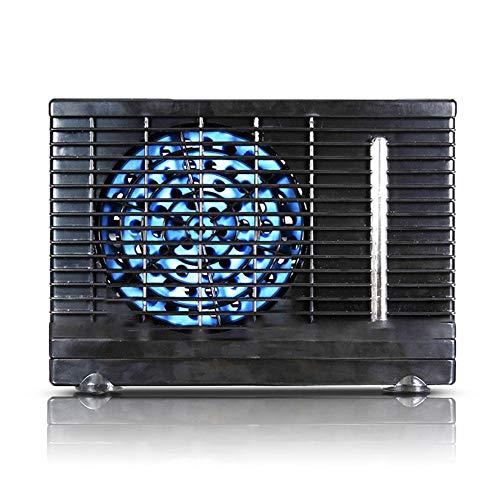 LiuXi Mini Refrigerador de Aire 12 V Ventilador de automóvil portátil Refrigerador de Aire Portátil Ultra silencioso Ahorro de energía Acondicionador de Aire Refrigerador Apto Hogar/Oficina
