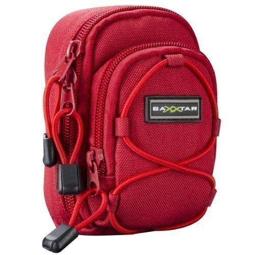 Bundlestar * REDSTAR V3 Kameratasche universal, Farbe ROT - (Kamera-Modelle passend: Siehe Produktmerkmale)