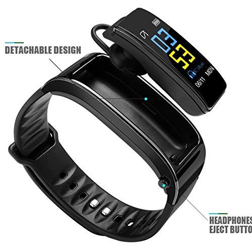 MiPao,Bluetooth Y3 Color Headset Talk Smart Band Bracelet Herzfrequenzmonitor Sports Smart Watch Passometer Fitness Tracker Wristband Smart Talk Bluetooth