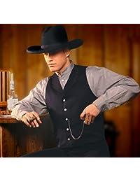 Hochwertiges Cowboyhemd Westernhemd JACK schwarz Stars & Stripes Herren-Reitbekleidung Reit- & Fahrsport