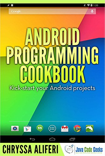 Android Programming Cookbook (English Edition)