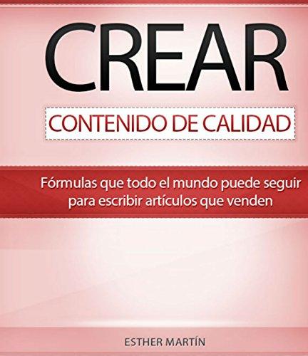 Libro crear contenidos de calidad