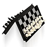 #7: Emob Magnetic Travel Chess Set with Folding Board Educational Toys for Kids and Adults (Pocket Size)