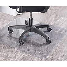MALATEC Esterilla para protección de Suelos 140 x 100 - Silla de Oficina para casa Oficina
