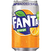 Fanta Orange Zéro 33cl (pack de 24)