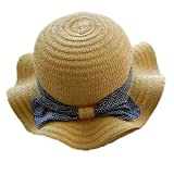 Spring / Summer Baby Girl Outdoor Sun Protection Beach Straw Hat