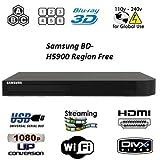 Samsung BD-J5900 - Lettore DVD Blu Ray, Wi-Fi e multi zone senza regione, PAL/NTSC 3D