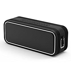 40w Bluetooth 4.2 Speakers, Ec Technology Dual Driver Portable Wireless Speaker With 10 Hour Playtime, Deep Bass, Tws, Shockproof Ipx7 Waterproof Splashproof Stereo Speakers For Outdoor Indoor