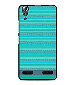 PrintDhaba Tribal pattern D-1857 Back Case Cover for LENOVO A6000 (Multi-Coloured)
