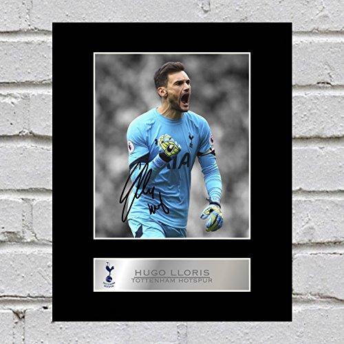 Photo dédicacée montée de Hugo Lloris du Tottenham Hotspur FC