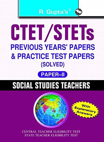 CTET: Social Studies Teachers (Paper-II) (for Class VI-VIII) Previous Years