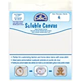 """Soluble Canvas 14 Count 8""""X8.5""""-White"""