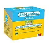 Klett Abi-Lernbox Deutsch: 100 Lernkarten mit den wichtigsten Prüfungsaufgaben und Lösungen