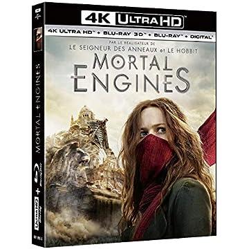 Mortal Engines [4K Ultra HD + Blu-ray 3D + Blu-ray + Digital]