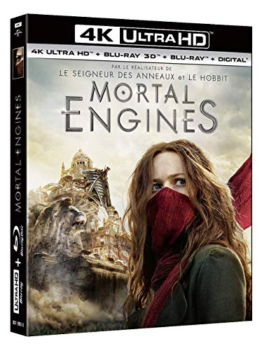Mortal Engines [4K Ultra HD + Blu-ray 3D + Blu-ray + Digital]