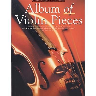 Album Of Violin Pieces Partitions Pour Violon Accompagnement Piano Pdf Download Bartolotheodo