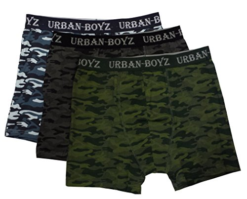 6 PAIRS MENS DESIGNER CLASSICS CAMOUFLAGE BOXER TRUNK SHORTS S M L XL XXL CHEAP (Medium)