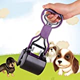 #1: SBE Pooper Scooper for Pets Helps in Cleaning Animal Waste with Long Handle Portable Easy Use and Clean Animal Shit Garbage-Pet Accessories Tool