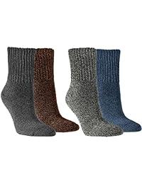Vitasox Damen Socken super soft Baumwolle Damensocken Arbeitssocken Baumwollsocken ohne Gummi 4er Pack