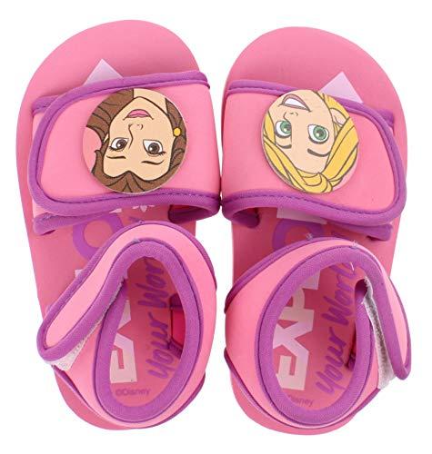 Princess Disney , Mädchen Sandalen Pink Rose, Pink - Rose - Größe: 24 EU (Disney Princess Rose)
