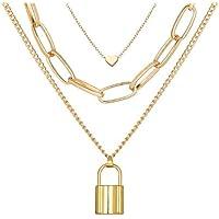 YouBella Jewellery for women Lock Pendant Necklace for Women & Girls