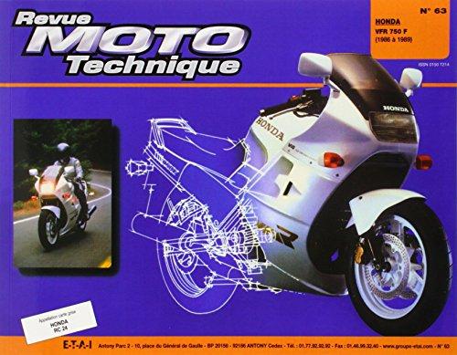 Rmt, n° 63 : Honda vfr 750 f