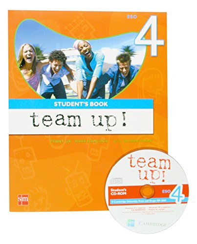 Team up! 4 ESO. Student's Book: Level 4-9788434897731