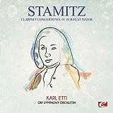 Stamitz: Clarinet Concerto No. 10 in B-Flat Major (Digitally Remastered) by Carl Stamitz (2015-08-03)