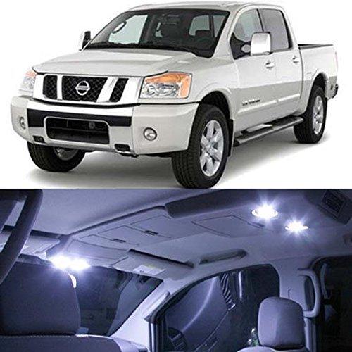 partsam-2004-2012-nissan-titan-white-interior-light-led-package-kit-10-pieces-by-partsam