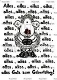 sheepworld Postkarte 'Alles,alles...Gute zum Geburtstag' 7