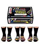 6 Verrückte Socken 15 Kombis - Oddsocks Brights & Stripes