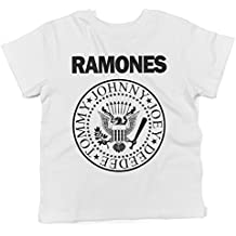 "Camiseta para bebés ""Ramones"" - Baby T-shirt rock LaMAGLIERIA"