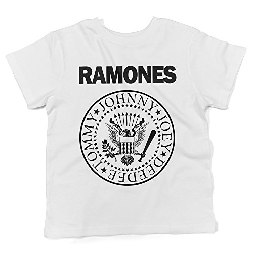 LaMAGLIERIA Camiseta para bebés Ramones - Baby T-Shirt Rock, 3-6...