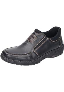 Rieker 12261 26 Schuhe Herren Halbschuhe Slipper