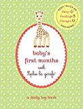Best Books Months - Baby's First Months with Sophie la girafe Review