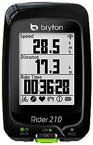 Bryton Rider 210E Compteur vélo professionnel équipé d'un GPS
