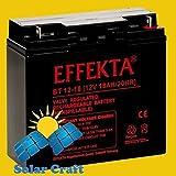 Solarmodul Blei Batterie Akku elektromoteur Konverter Volt 18Ah 12V