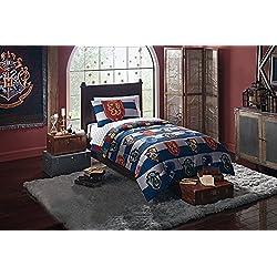 """Harry Potter """"orgullo de Rugby 4piezas doble cama en una bolsa de cama para niños–Colcha, funda de almohada y hojas"""
