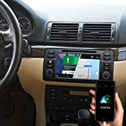 DYNAVIN Autoradio Navi für BMW 3er E46 1998 – 2006, 7 Zoll Radio mit Android Auto, Bluetooth, USB, DAB+ Ready;