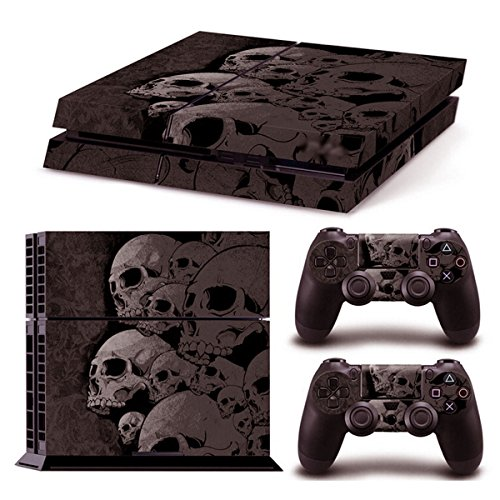 Skin-Stickers-Decal-Skulls-fr-PS4-Playstation-Controller-Game-Gifts-fr-Friend
