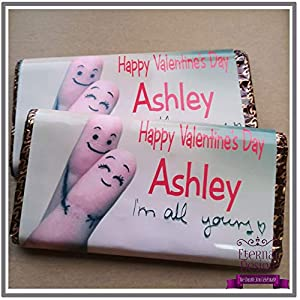 Eterna diseño personalizado San Valentín