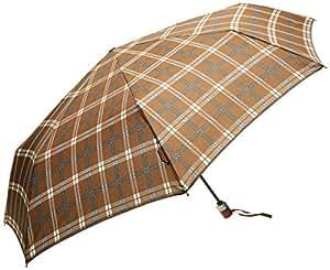 Samsonite Parapluie Pliant Wood Classic à Motifs Marron (Scottish Brown/Brun) 45526-2623