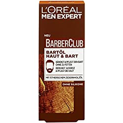 L'Oréal Men Expert Barber Club Bartöl Haut und Bart, 1er Pack (1 x 30 ml)
