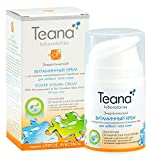 Teana Anti-Aging Face Cream with Vitamins B1, B2, B12 and Niacin - With Extract of Microalgae of the Hawaiian Lakes - For All Skin Type - Excellent Base for Makeup - Biopeptide Cosmetics