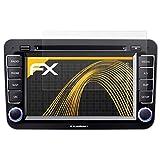 atFoliX Schutzfolie für Blaupunkt Philadelphia 835 Displayschutzfolie - 3 x FX-Antireflex blendfreie Folie